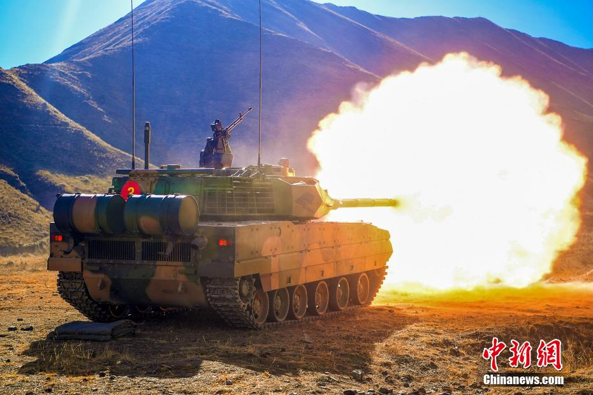 Mo dau 2021: Quan doi Trung Quoc tap tran ram ro o Tay Tang-Hinh-7