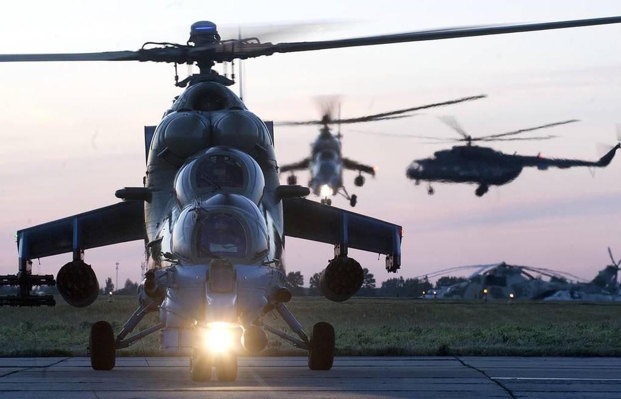 Nga cao buoc Azerbaijan co y ban ha truc thang Mi-24 cua nuoc nay