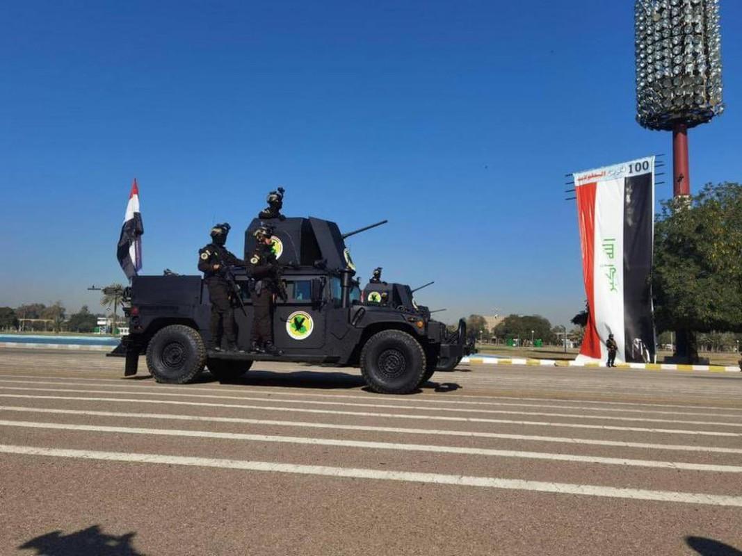 Iraq duyet binh khung ky niem 100 nam thanh lap quan doi-Hinh-12