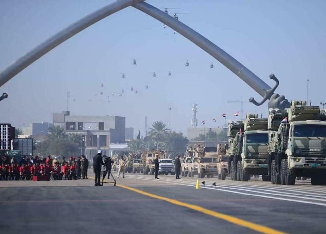 Iraq duyet binh khung ky niem 100 nam thanh lap quan doi-Hinh-14