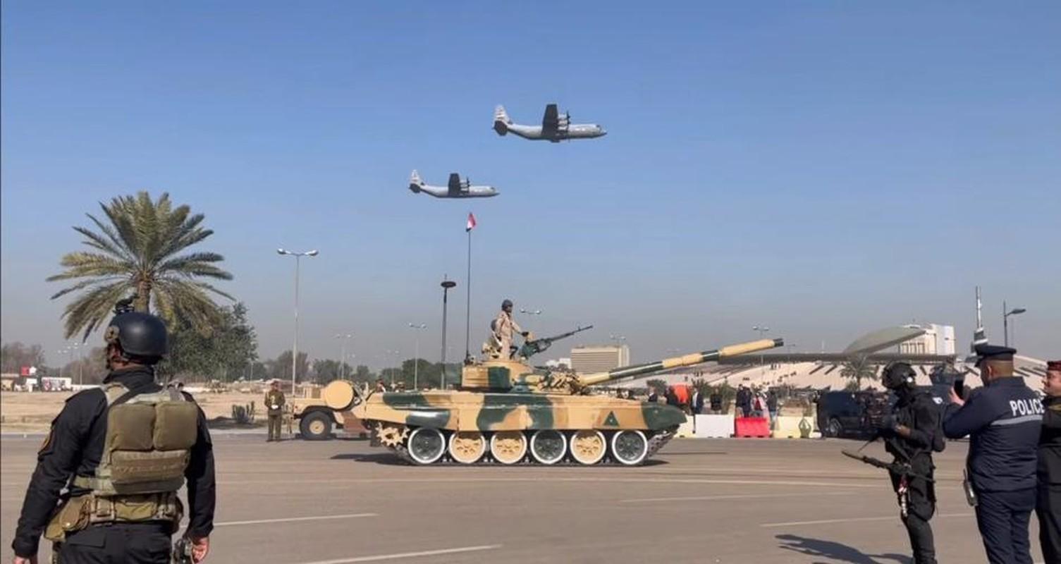 Iraq duyet binh khung ky niem 100 nam thanh lap quan doi-Hinh-16