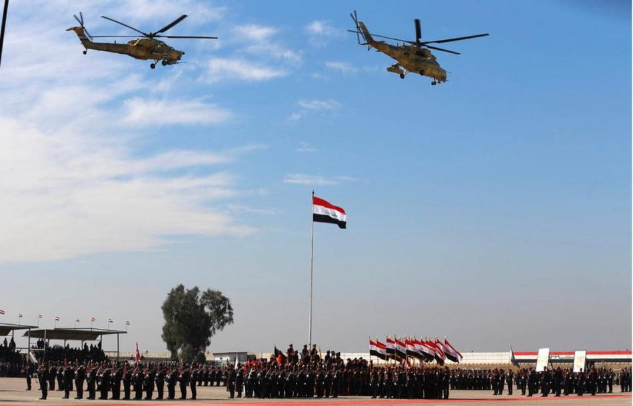 Iraq duyet binh khung ky niem 100 nam thanh lap quan doi-Hinh-8