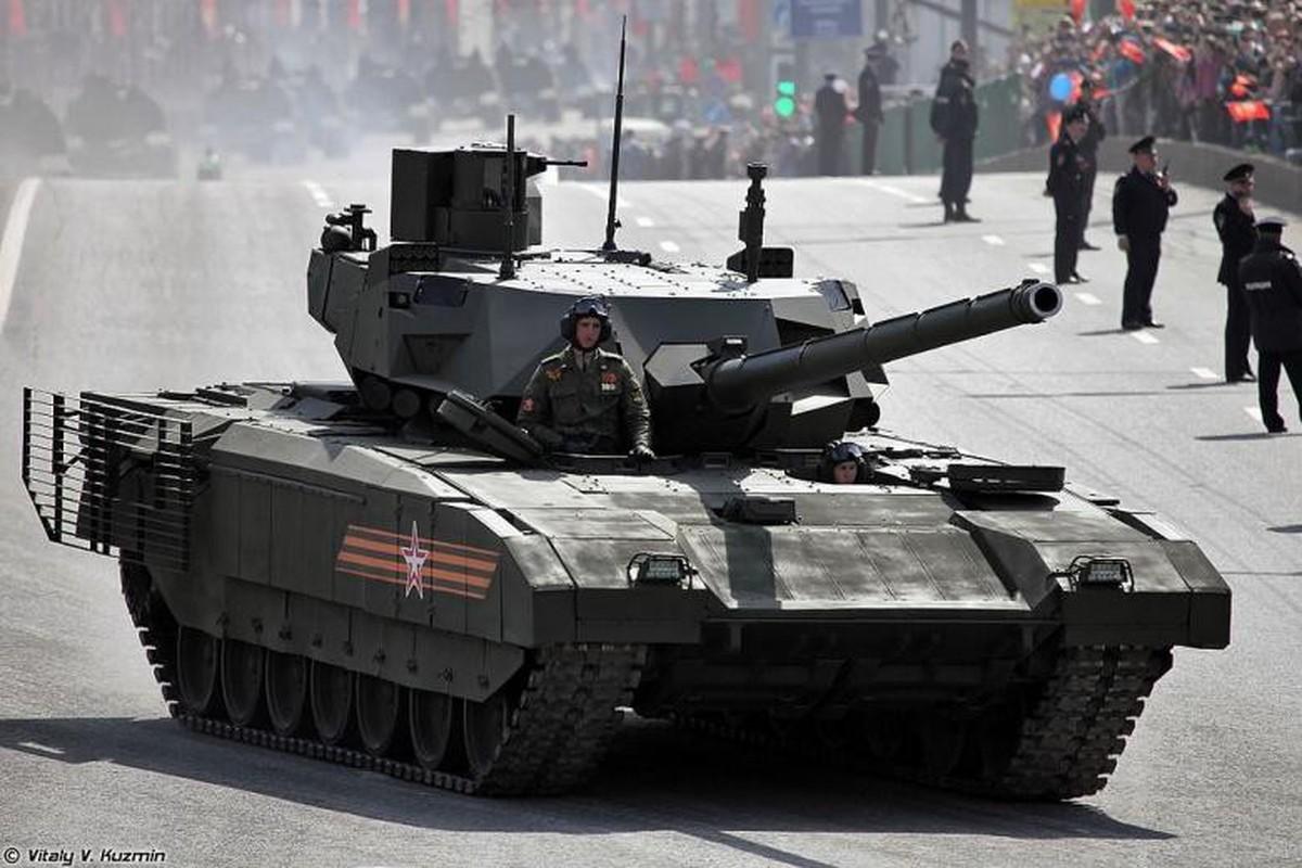 Ukraine che xe tang Armata hien dai cua Nga la