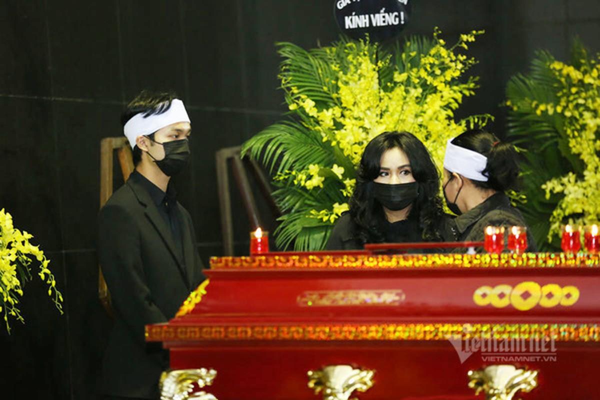 Thanh Lam, Trong Tan va cac nghe si den vieng NSND Trung Kien