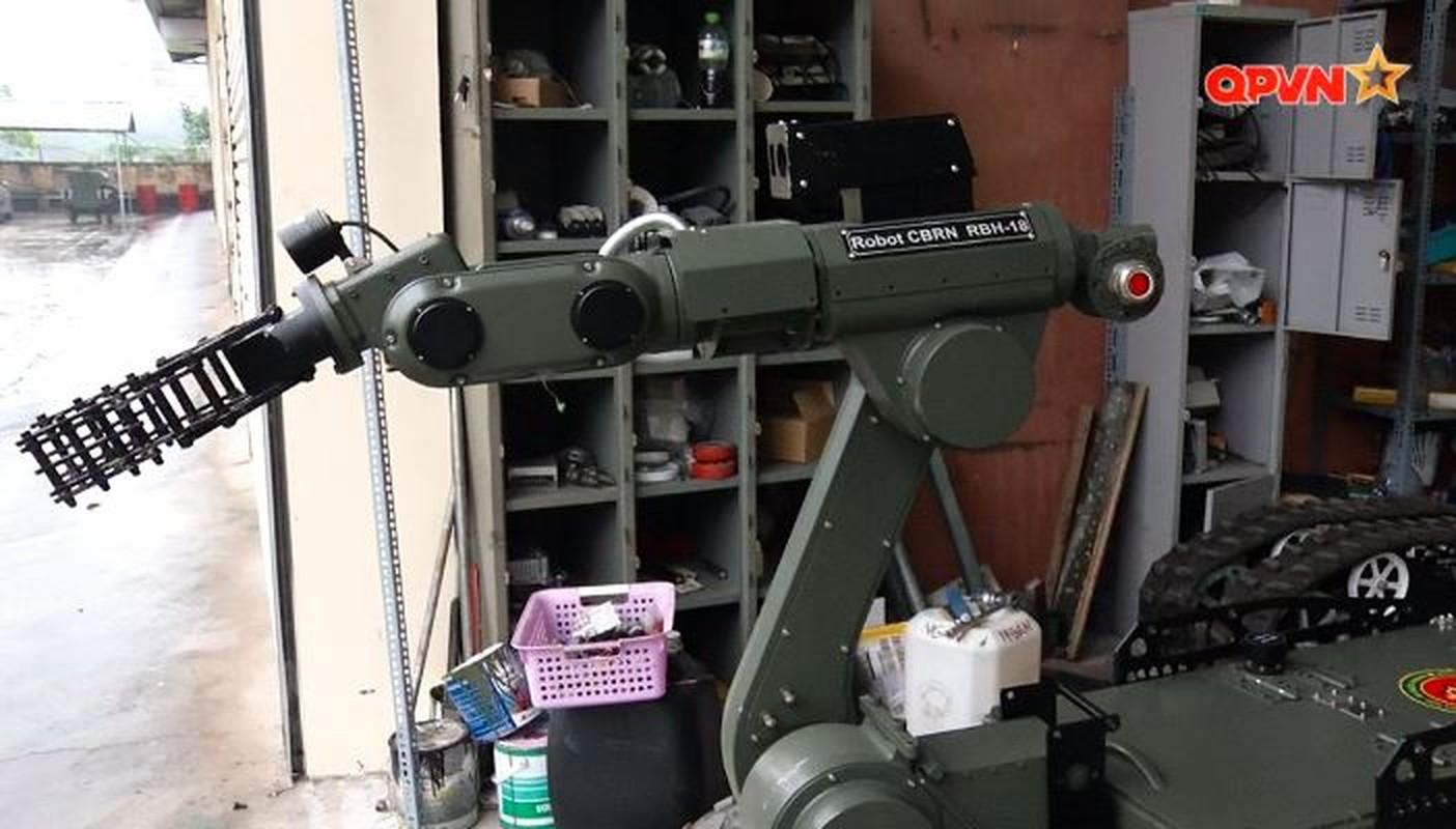 Robot trinh sat phong xa va hoa hoc RBH-18 do Viet Nam tu phat trien-Hinh-15