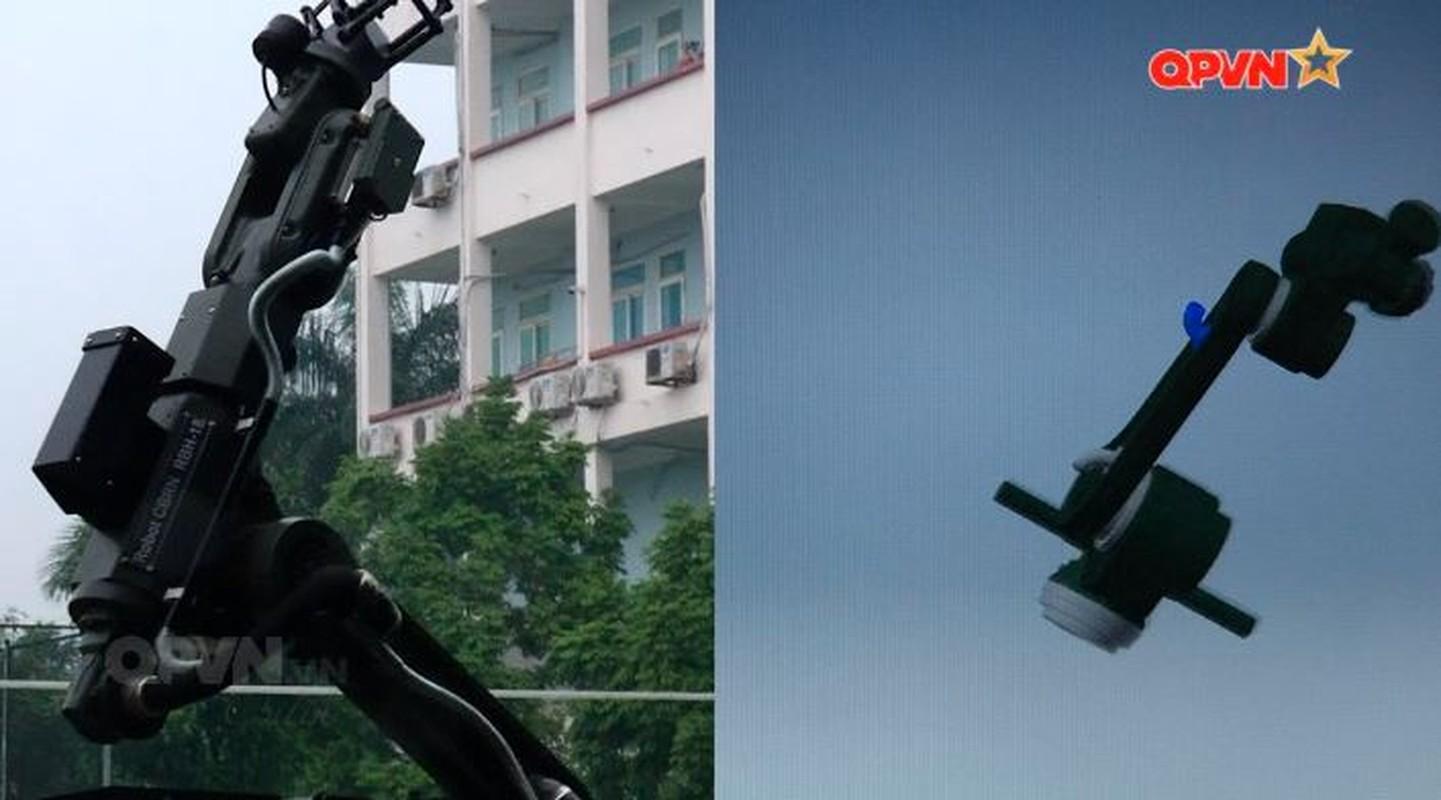 Robot trinh sat phong xa va hoa hoc RBH-18 do Viet Nam tu phat trien-Hinh-16