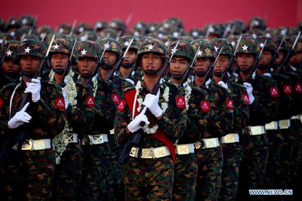 Suc manh cua Luc quan Myanmar vua tien hanh dao chinh-Hinh-2