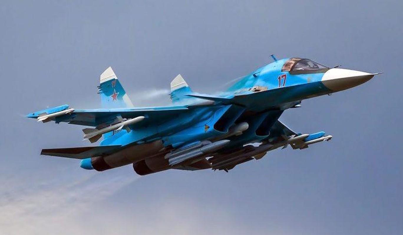 Khac tinh cua tiem kich - bom Su-34: Khong tuong dong cung tuong duong!