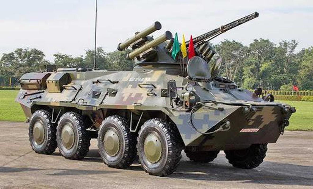 Xe boc thep noi dia nguon goc chau Au Myanmar vua dung tai Thu do-Hinh-5