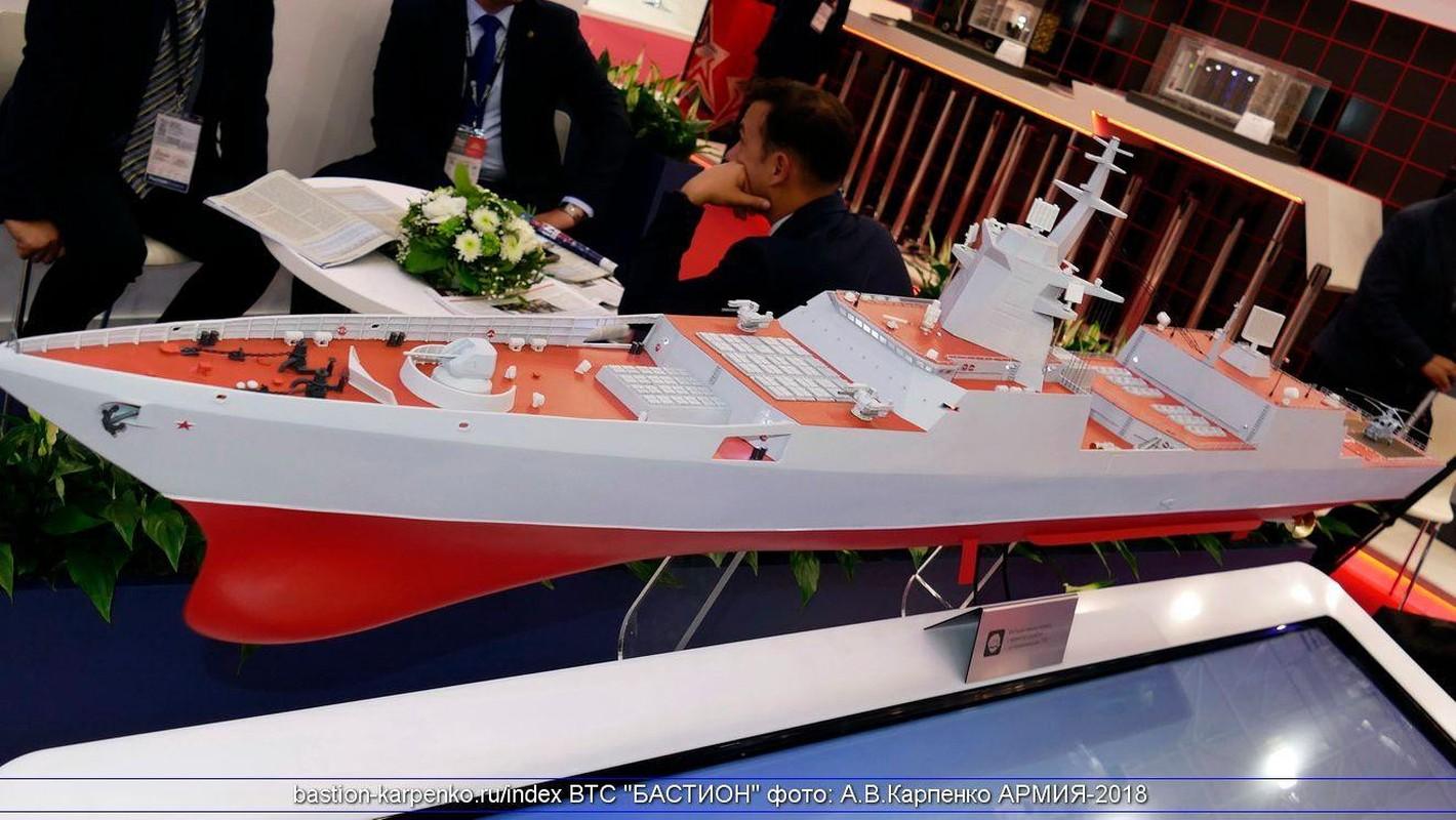 Dang ne: Khinh ham 5000 tan cua Nga mang duoc 48 ten lua Zircon-Hinh-2
