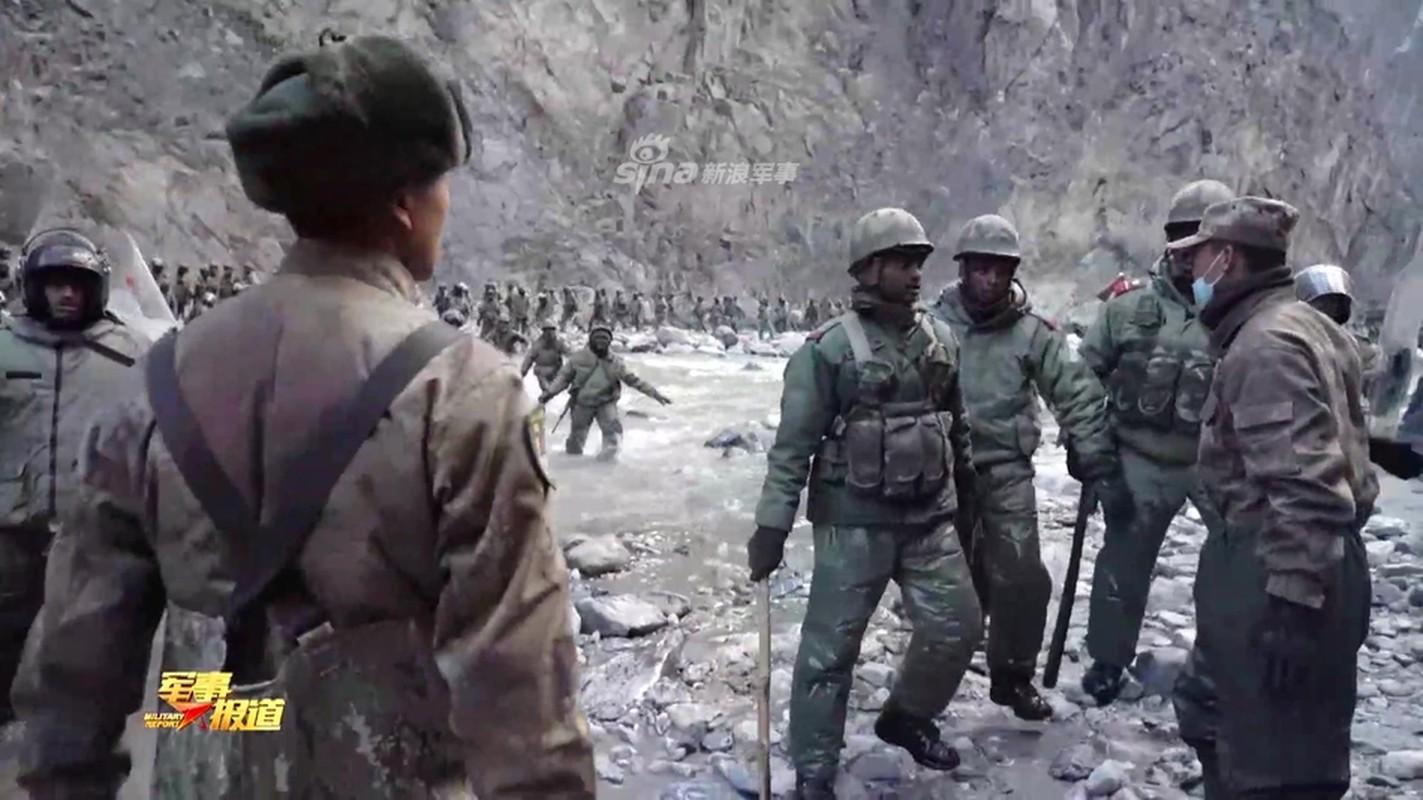 CCTV tung clip linh Trung Quoc dau tay doi voi An Do o bien gioi-Hinh-5