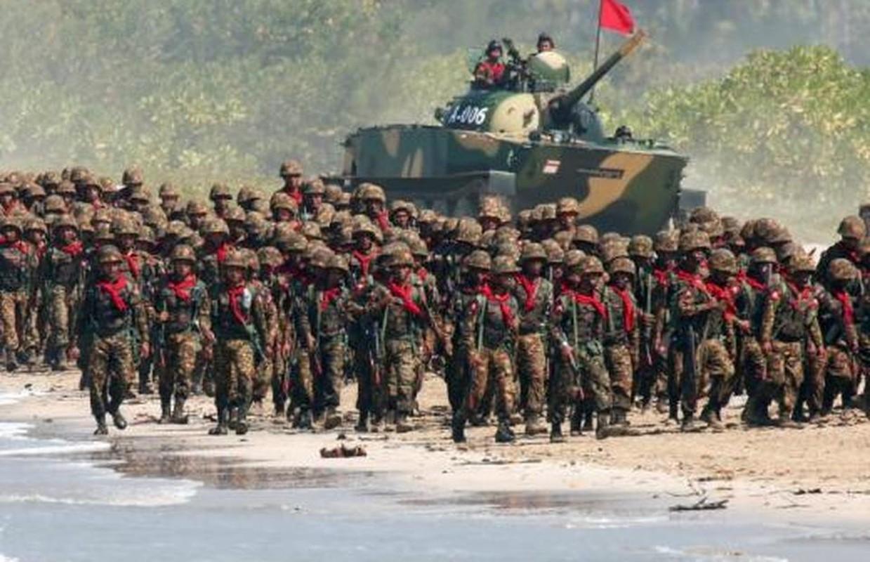 Suc manh quan su Myanmar dang dung thu may Dong Nam A?-Hinh-3