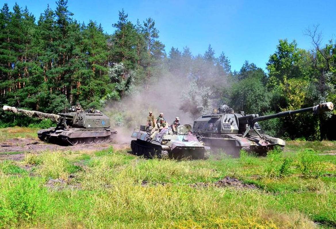 Ukraine bat ngo keo hang dan phao tu hanh 152mm toi Donbass-Hinh-12