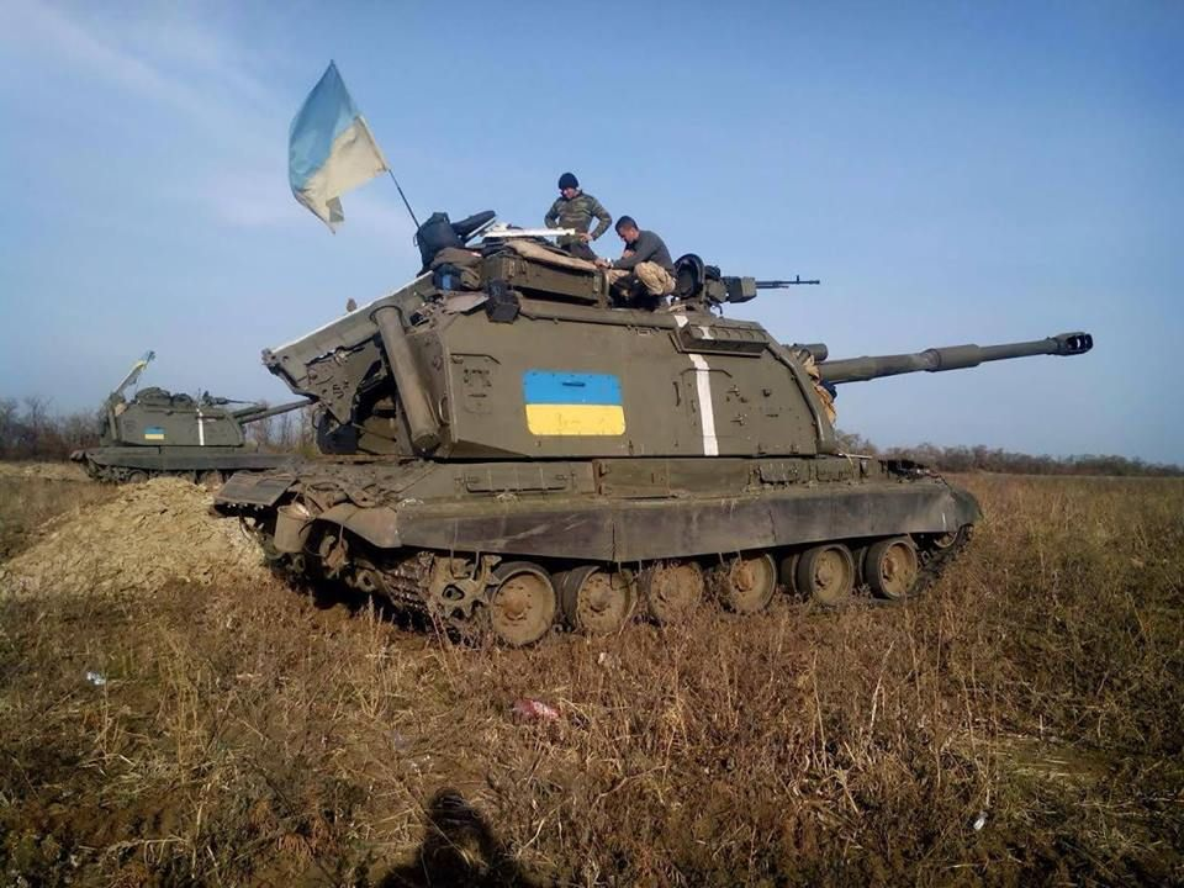 Ukraine bat ngo keo hang dan phao tu hanh 152mm toi Donbass-Hinh-13