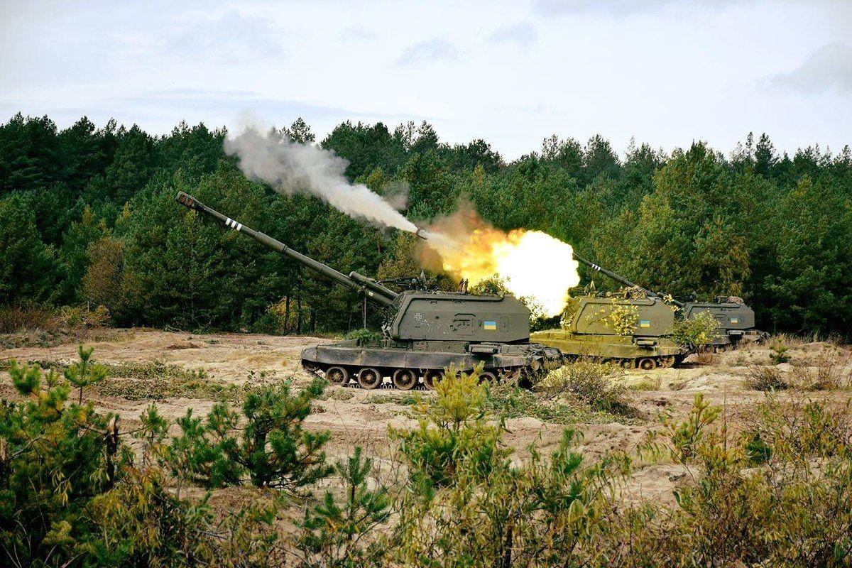 Ukraine bat ngo keo hang dan phao tu hanh 152mm toi Donbass-Hinh-14