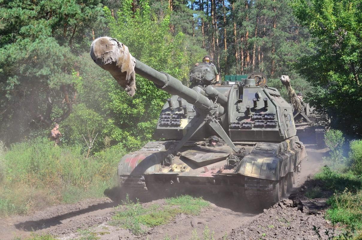 Ukraine bat ngo keo hang dan phao tu hanh 152mm toi Donbass-Hinh-2