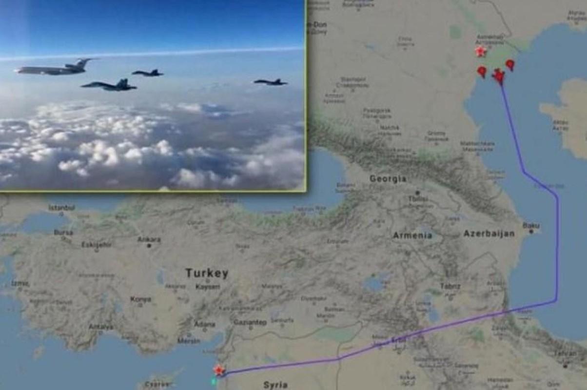 Chien dau co Su-34 Nga doi bom, nua tinh Idlib chim trong bien lua