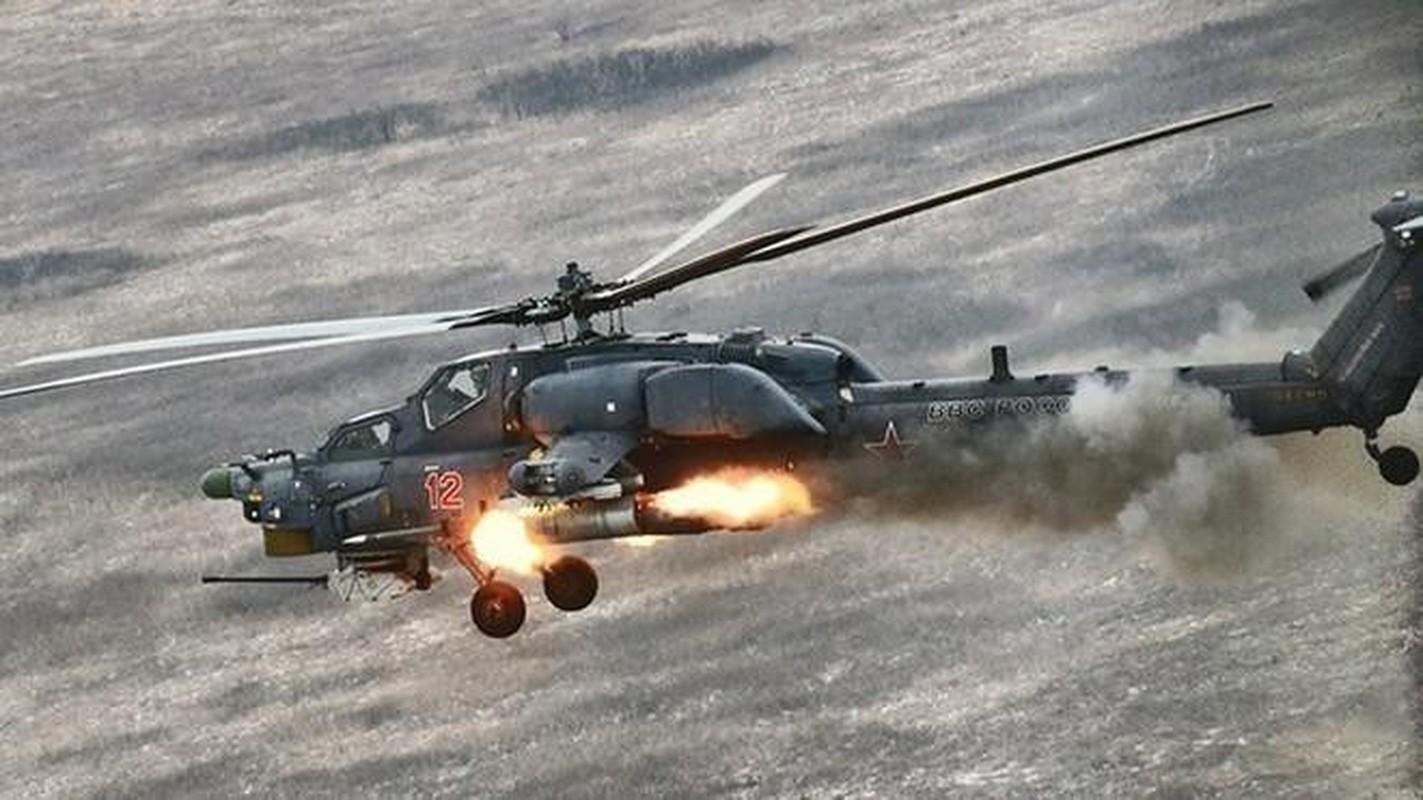 Tho san dem Mi-28N san sang huy diet xe tang Ukraine neu vuot lan ranh do