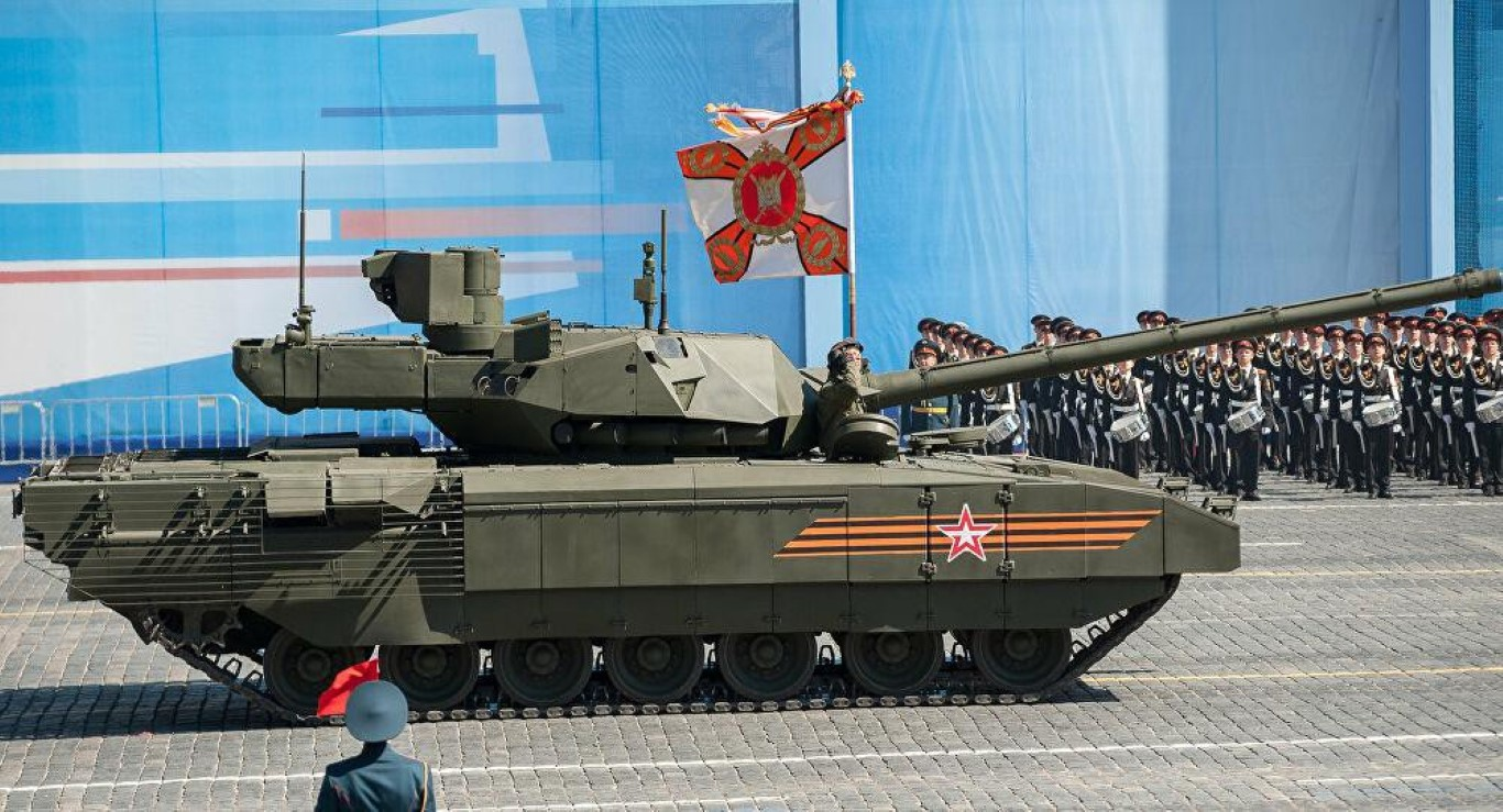 Su thuc mot dai doi T-14 Armata du suc diet ca lu doan tang NATO-Hinh-10