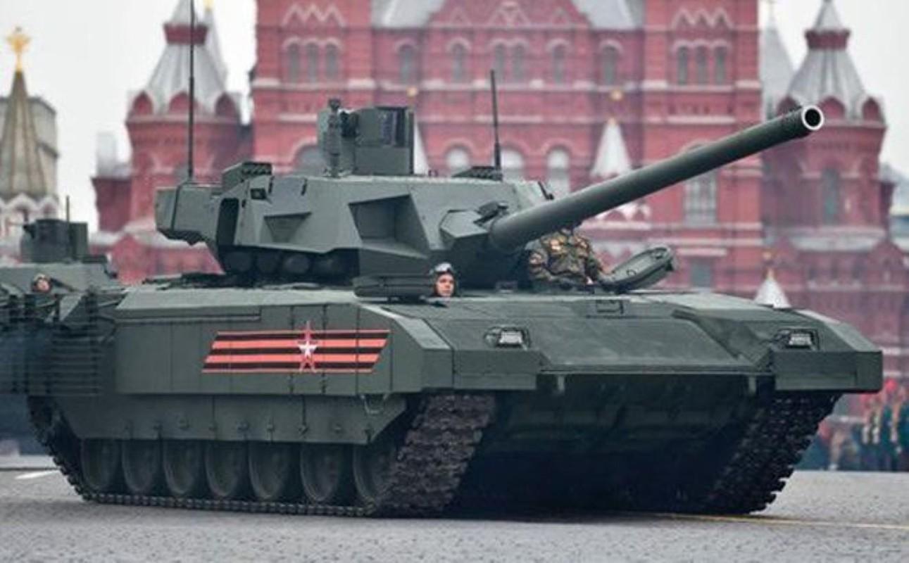 Su thuc mot dai doi T-14 Armata du suc diet ca lu doan tang NATO