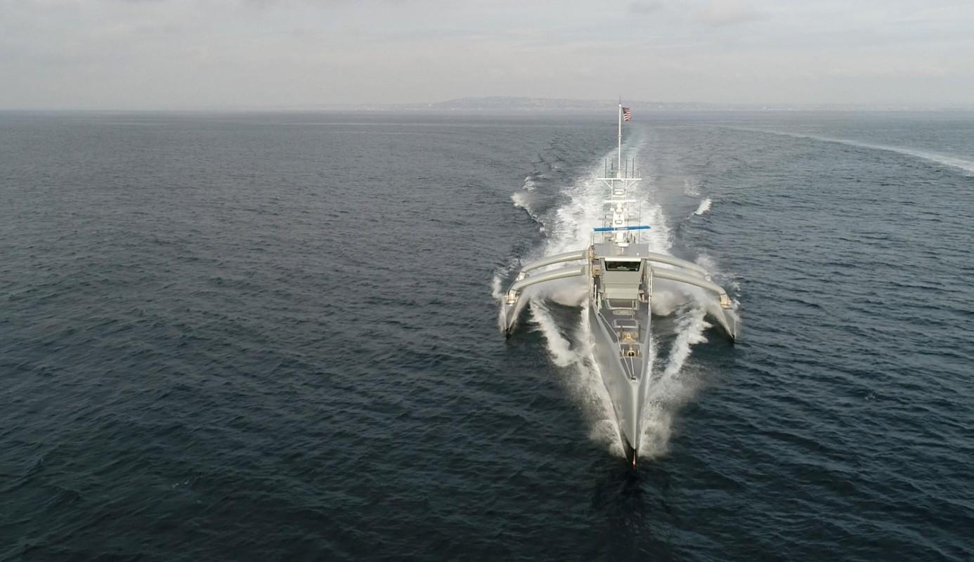 Tho san tau ngam khong nguoi lai Sea Hunter duoc My dua vao bien che-Hinh-12