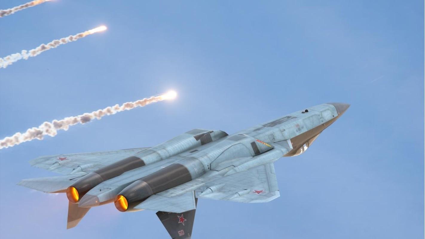 MiG-41 va Su-57 them phan nguy hiem khi duoc trang bi phao xung dien tu-Hinh-5