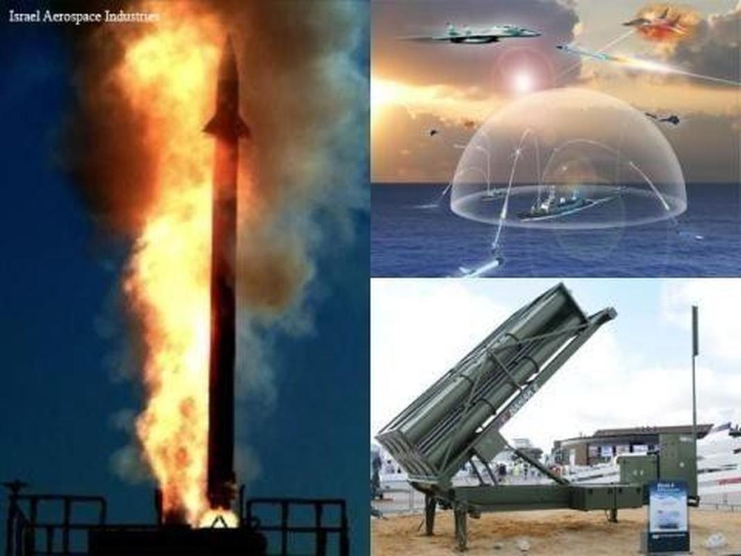 Israel tung bang chung Barak-8 ban ha thanh cong Iskander-E-Hinh-6