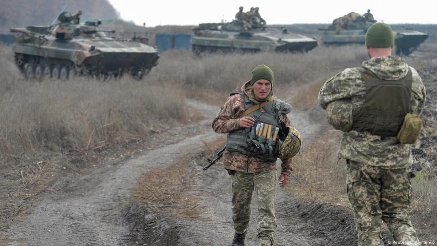 Suc manh phao binh Nga o bien gioi du de bep toan bo Ukraine