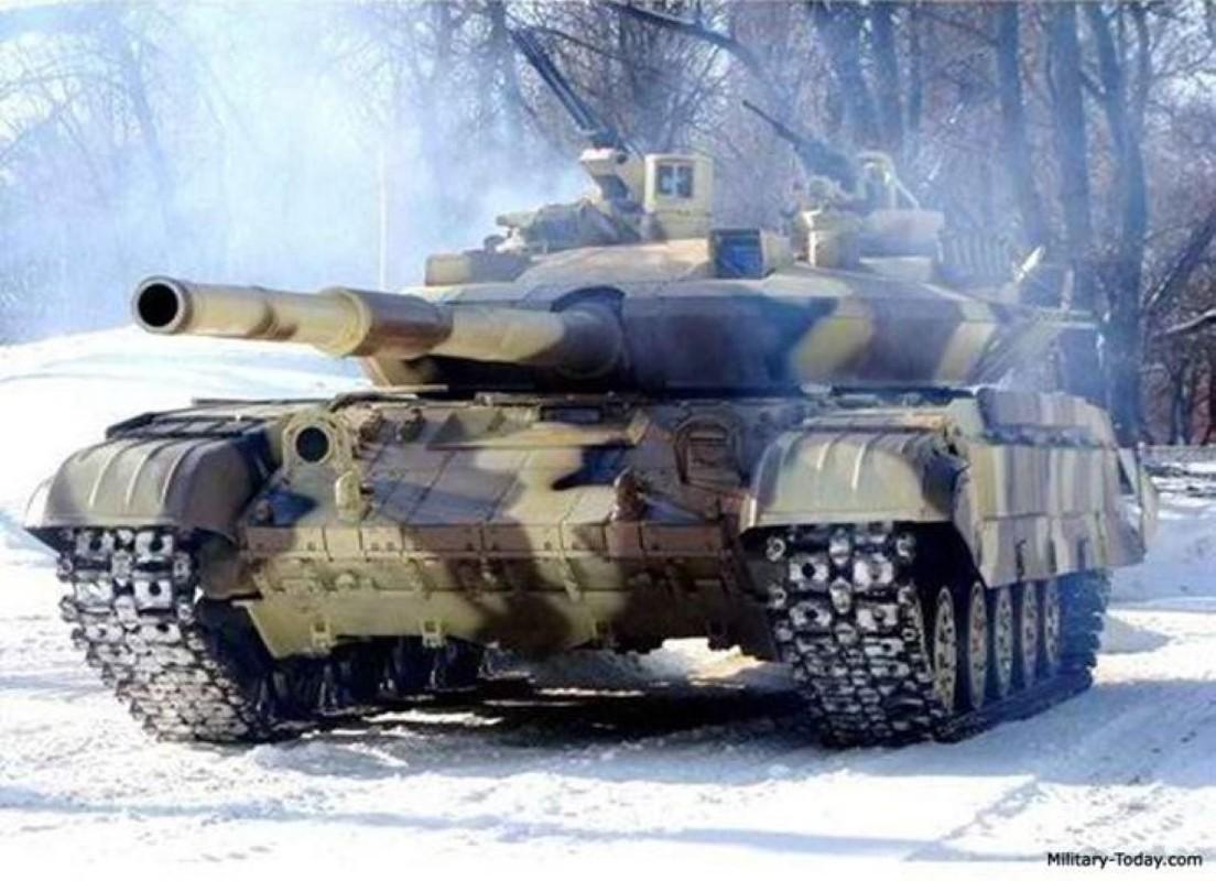 Xe tang T-64E Ukraine thanh ke huy diet nho phao tu dong 2 nong cuc manh-Hinh-13