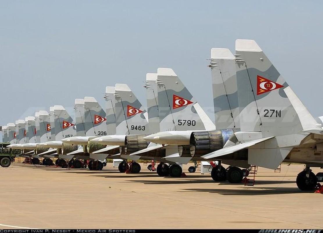Vi sao Su-30MK2 Venezuela phai 'nam dat' hang loat khi con rat moi?