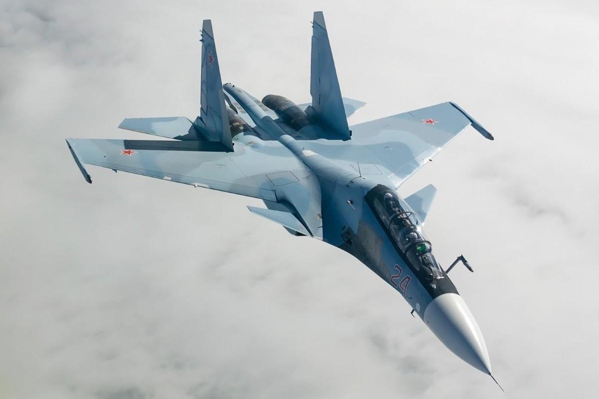 Hang loat Su-30SM cua Nga san sang o bien gioi-Hinh-14