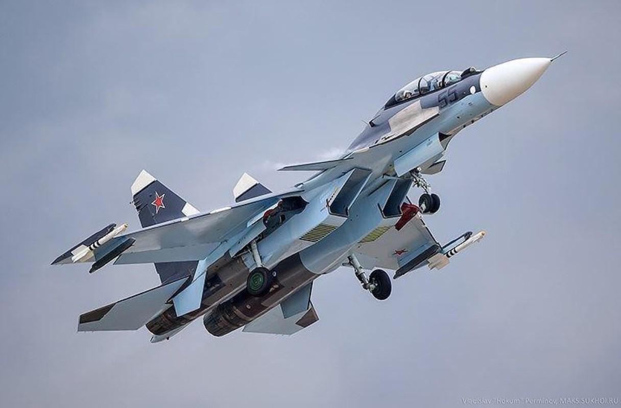 Hang loat Su-30SM cua Nga san sang o bien gioi-Hinh-2