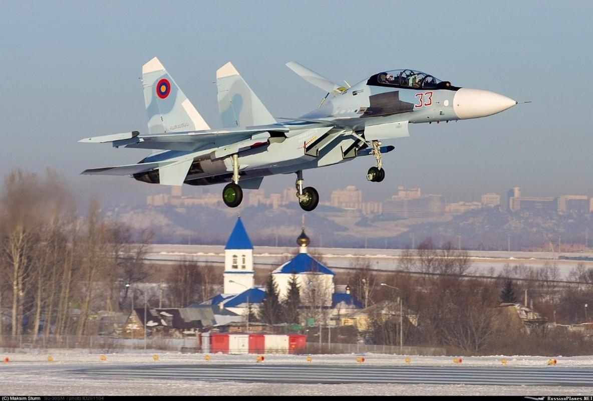 Hang loat Su-30SM cua Nga san sang o bien gioi-Hinh-20