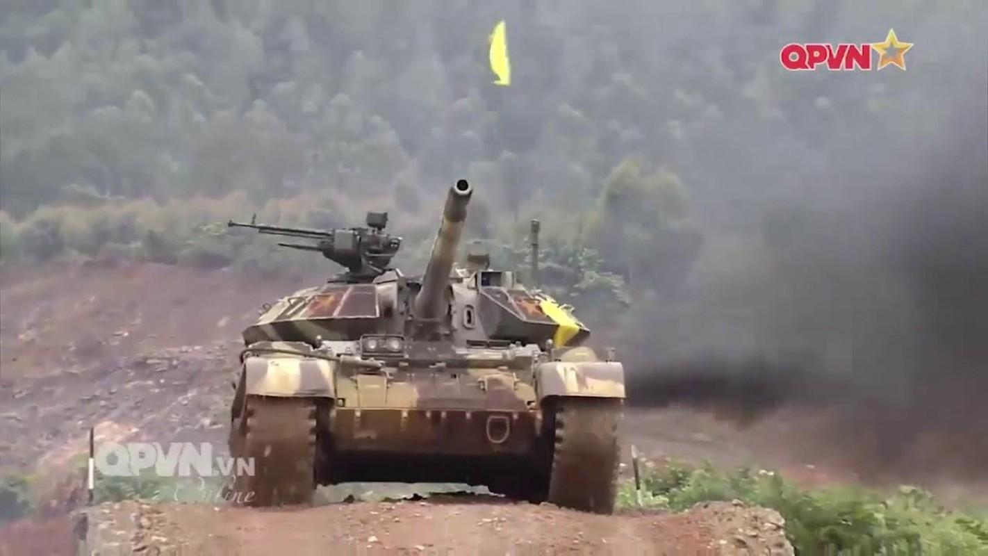 Bao Nga so sanh xe tang T-54M Viet Nam voi... Merkava cua Israel-Hinh-2