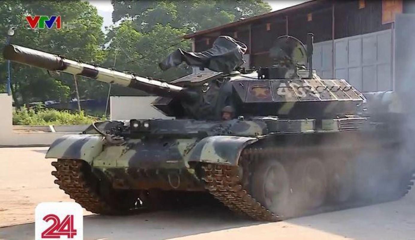 Bao Nga so sanh xe tang T-54M Viet Nam voi... Merkava cua Israel-Hinh-5