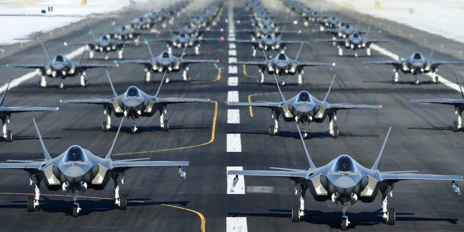Bat ngo: Khong quan My dang co nhieu F-35 hon ca F-15 va F-10