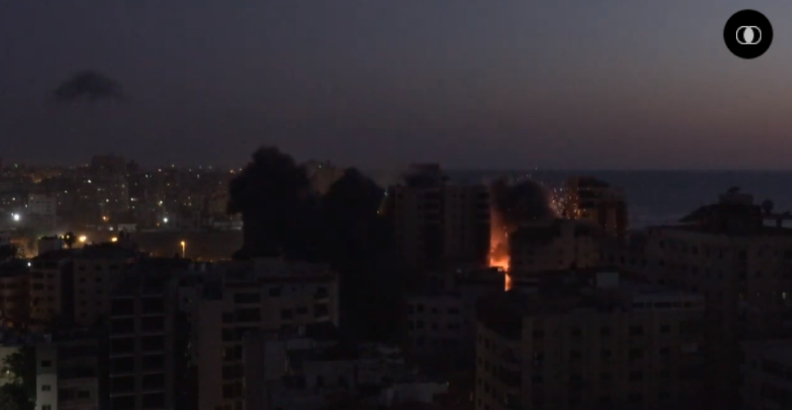 Bi Israel danh sap nha, Hamas phong mua phao phan luc dap tra-Hinh-3