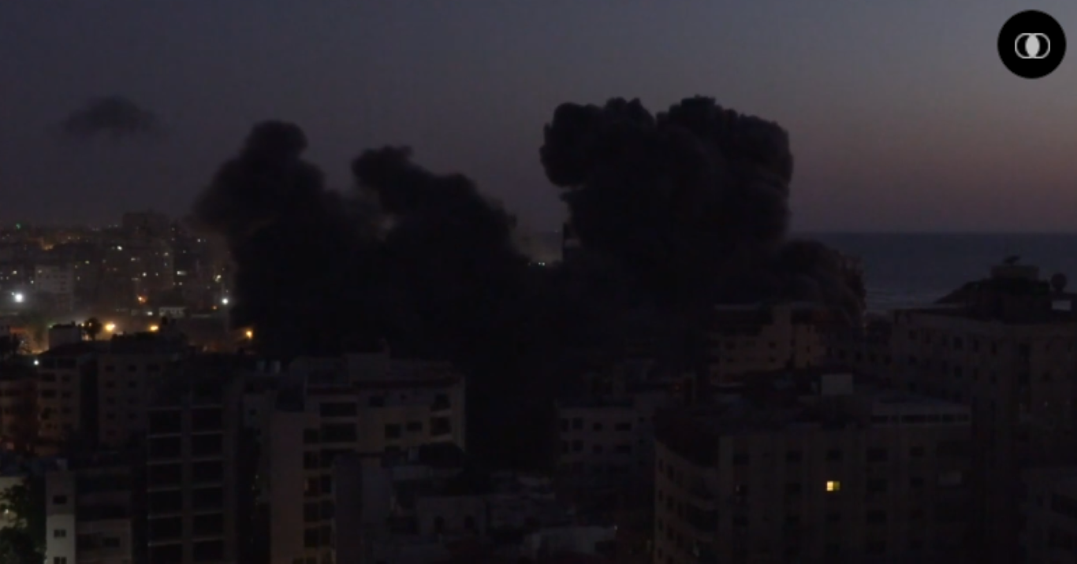 Bi Israel danh sap nha, Hamas phong mua phao phan luc dap tra-Hinh-5