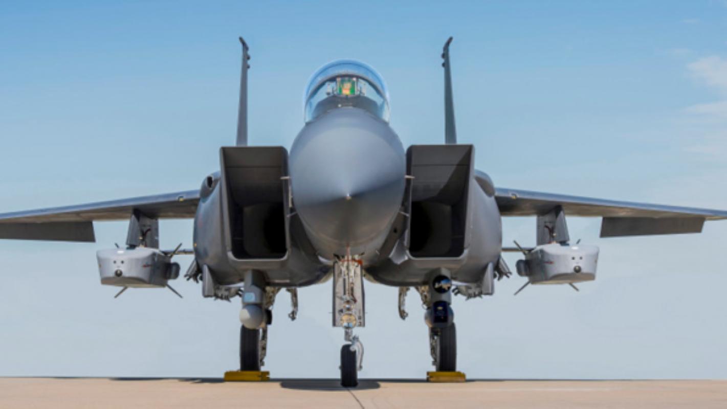 Tiem kich F-15E gay soc khi mang cung luc 5 ten lua tang hinh nang 1 tan-Hinh-9