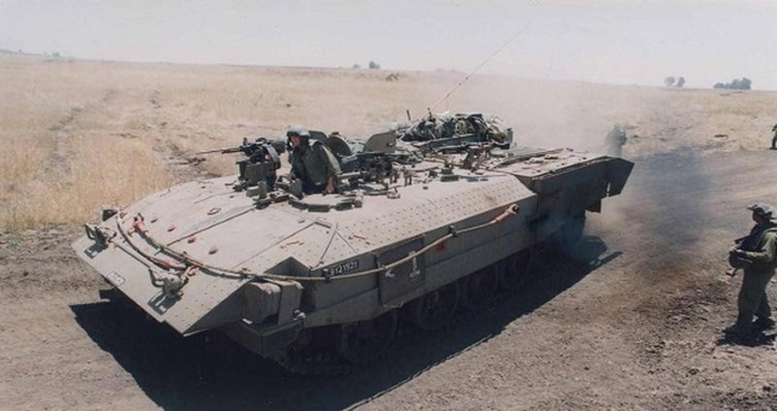 Hoan cai xe tang T-54/55 thanh xe boc thep cho quan, Israel khien ca the gioi kinh ngac-Hinh-10