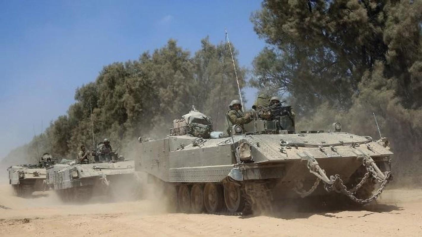 Hoan cai xe tang T-54/55 thanh xe boc thep cho quan, Israel khien ca the gioi kinh ngac-Hinh-11
