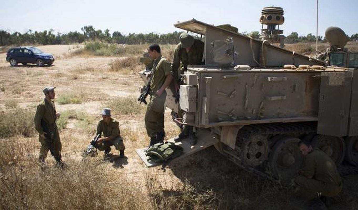Hoan cai xe tang T-54/55 thanh xe boc thep cho quan, Israel khien ca the gioi kinh ngac-Hinh-12