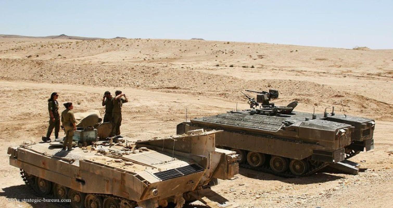 Hoan cai xe tang T-54/55 thanh xe boc thep cho quan, Israel khien ca the gioi kinh ngac-Hinh-13