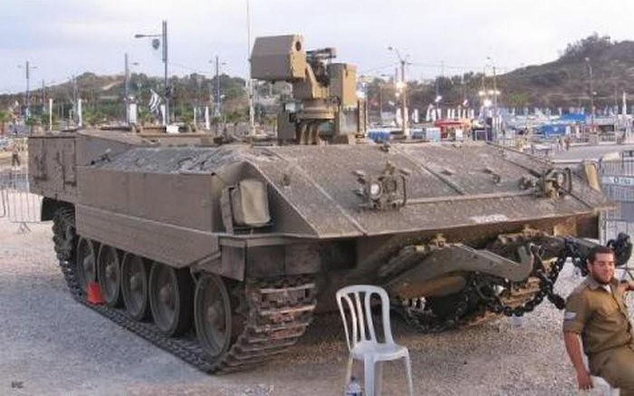 Hoan cai xe tang T-54/55 thanh xe boc thep cho quan, Israel khien ca the gioi kinh ngac-Hinh-14