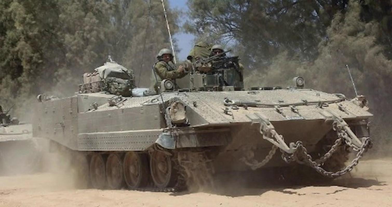Hoan cai xe tang T-54/55 thanh xe boc thep cho quan, Israel khien ca the gioi kinh ngac-Hinh-4