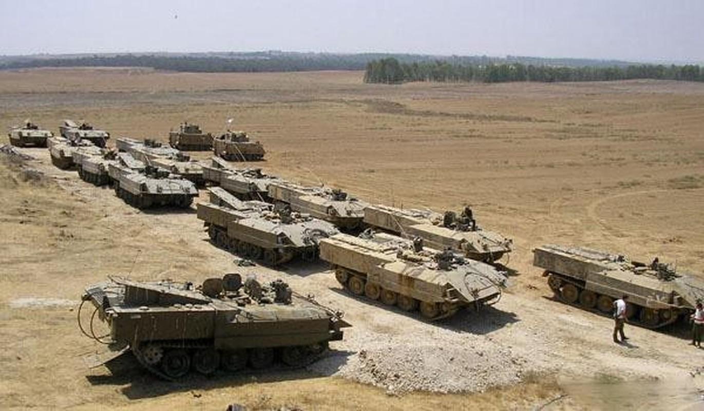 Hoan cai xe tang T-54/55 thanh xe boc thep cho quan, Israel khien ca the gioi kinh ngac-Hinh-5