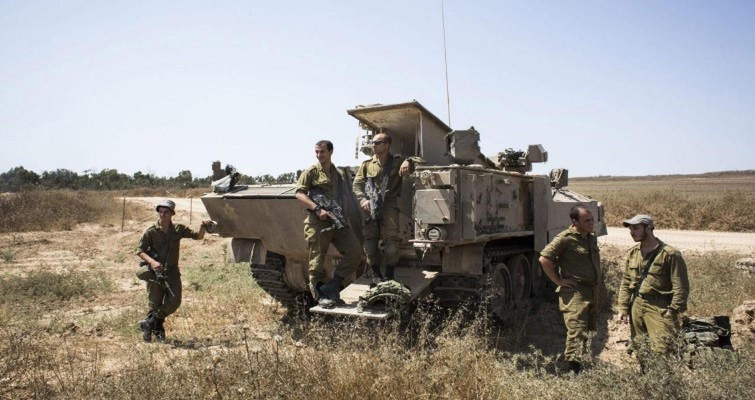 Hoan cai xe tang T-54/55 thanh xe boc thep cho quan, Israel khien ca the gioi kinh ngac-Hinh-6