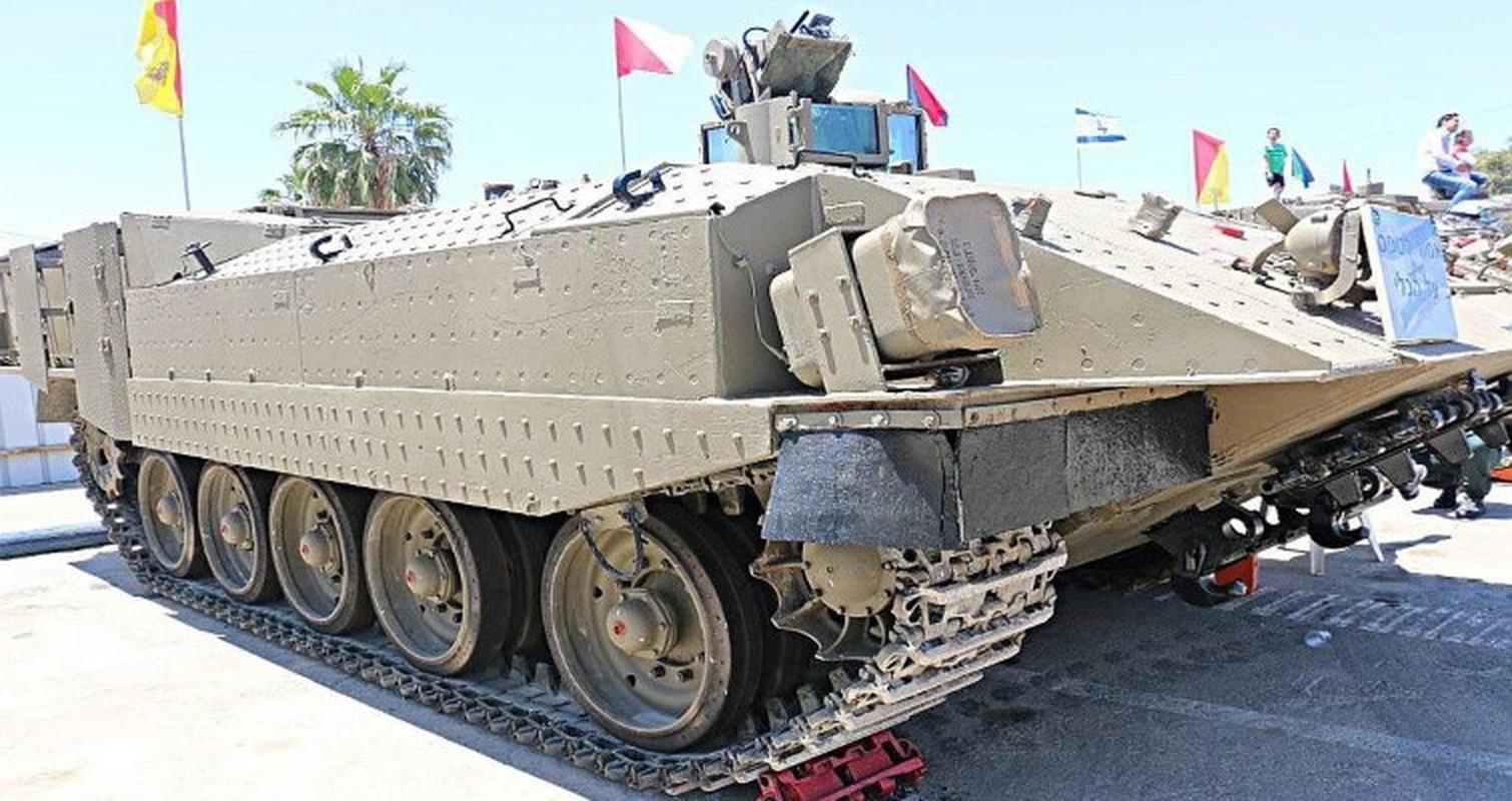 Hoan cai xe tang T-54/55 thanh xe boc thep cho quan, Israel khien ca the gioi kinh ngac-Hinh-8