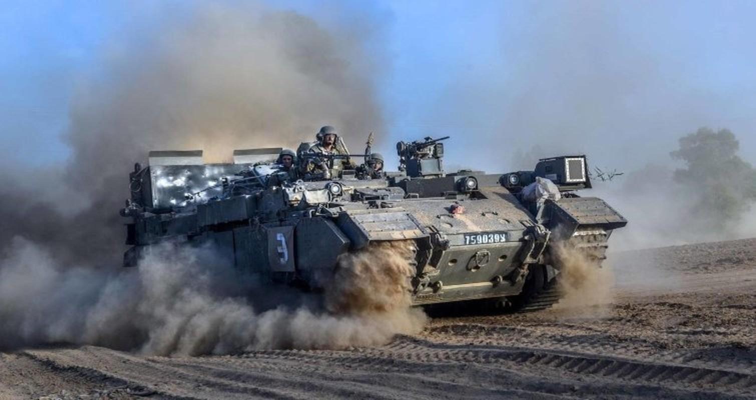 Hoan cai xe tang T-54/55 thanh xe boc thep cho quan, Israel khien ca the gioi kinh ngac