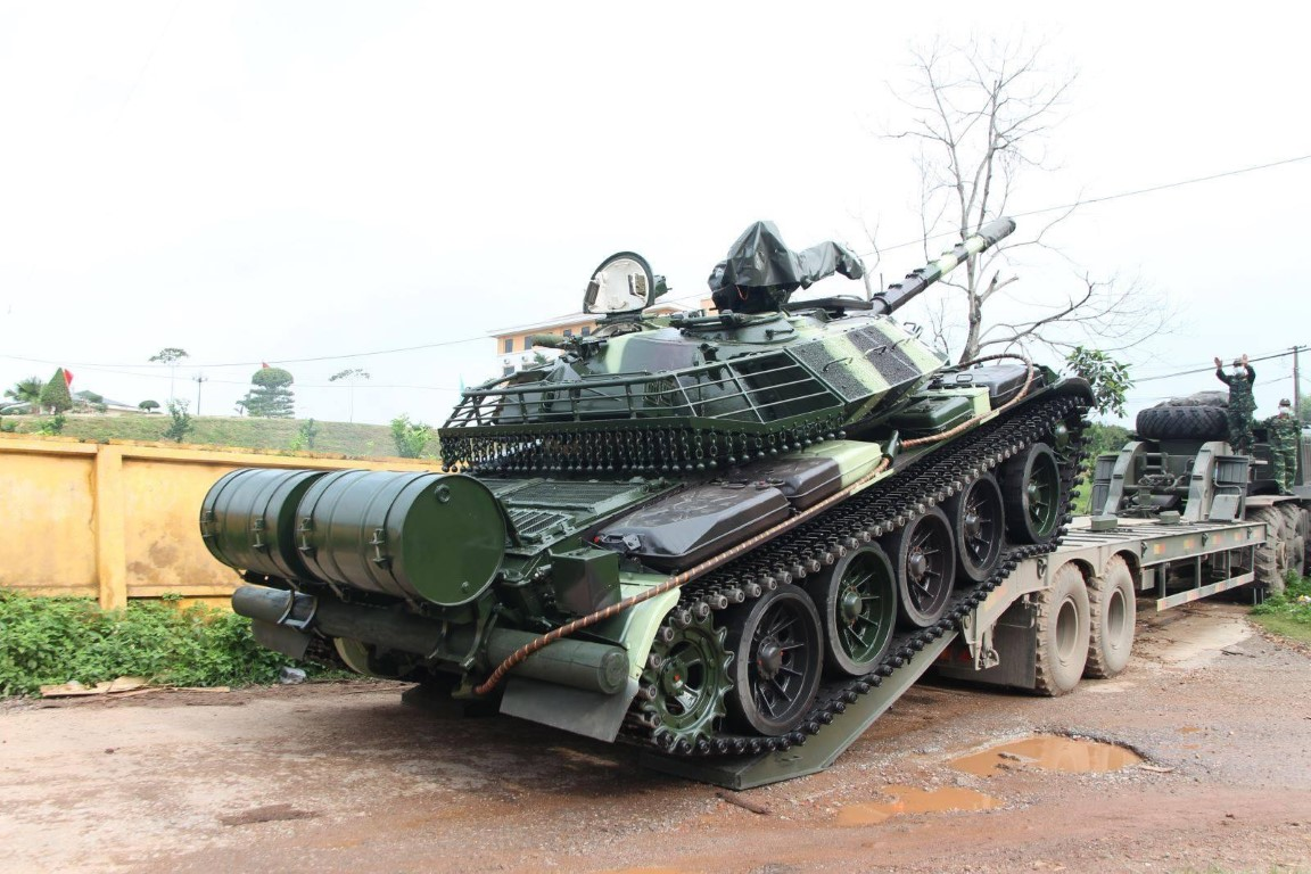 Xe tang T-54 nang cap bat dau duoc ban giao hang loat cho don vi tac chien-Hinh-3